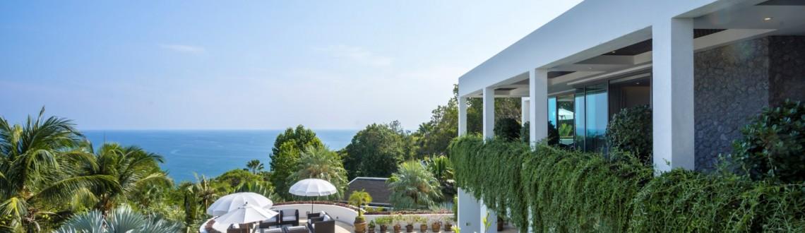 Phuket Rental: 6 Bedroom Modern Seaview Villa in Kamala