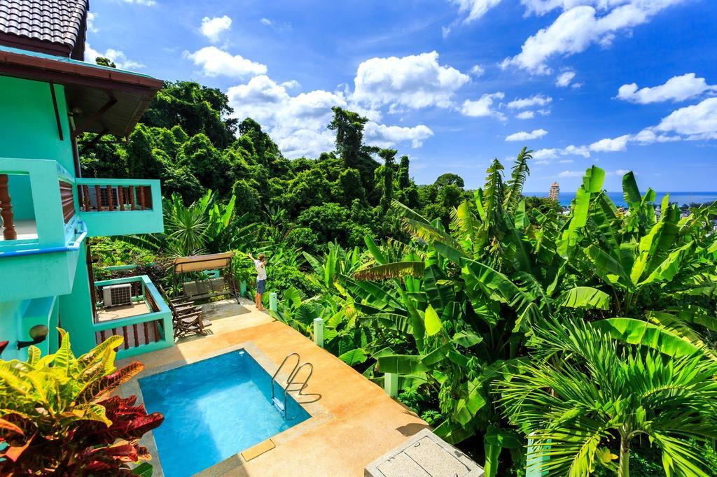 Phuket Rental: 3 Bedroom Holiday Home with Private Pool in Patong